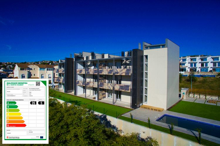 Construccion industrializada Sitges BHS eficiencia energética